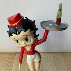 "Betty Boop Other - Betty Boop Statue Figurine - ""Carhop Betty"""